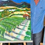 International Biennial 'Isole' painting competition in Sardinia. 2nd placed overall winner.