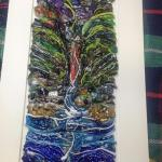 Shanklin Chine GlassArt Commission